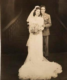Tony and Grace got married in 1942 at Our Lady of Mount Carmel on Gove Street.
